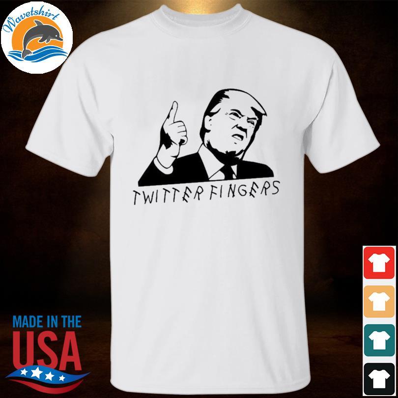 Official Donald Trump Twitter Fingers shirt