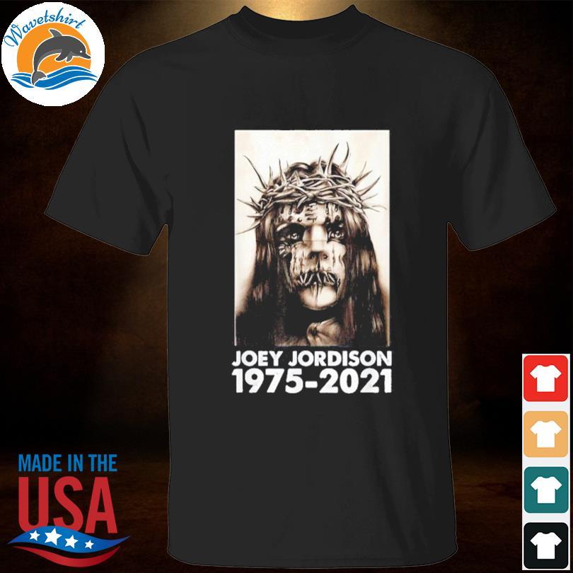 Official RIP Joey Jordison 1975-2021 Shirt