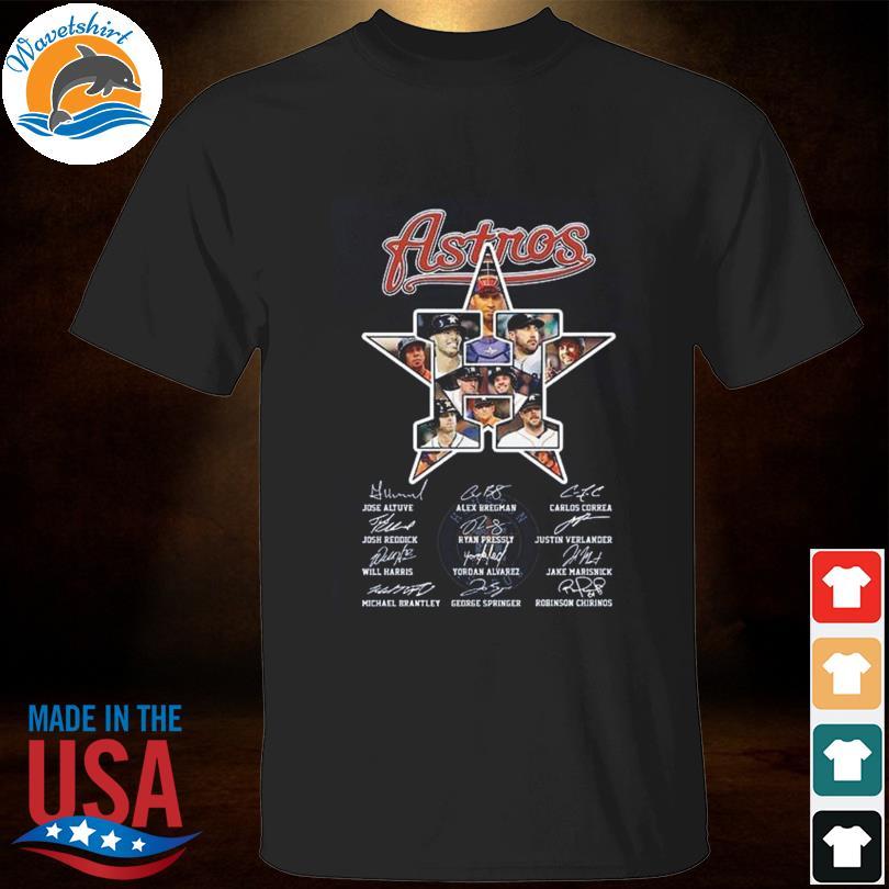 Astros Member Of Houston Astros signatures shirt