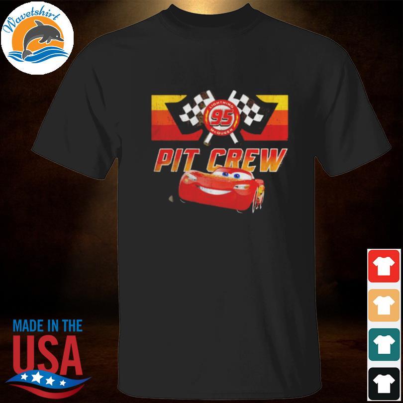 Lightning mcqueen pit crew shirt