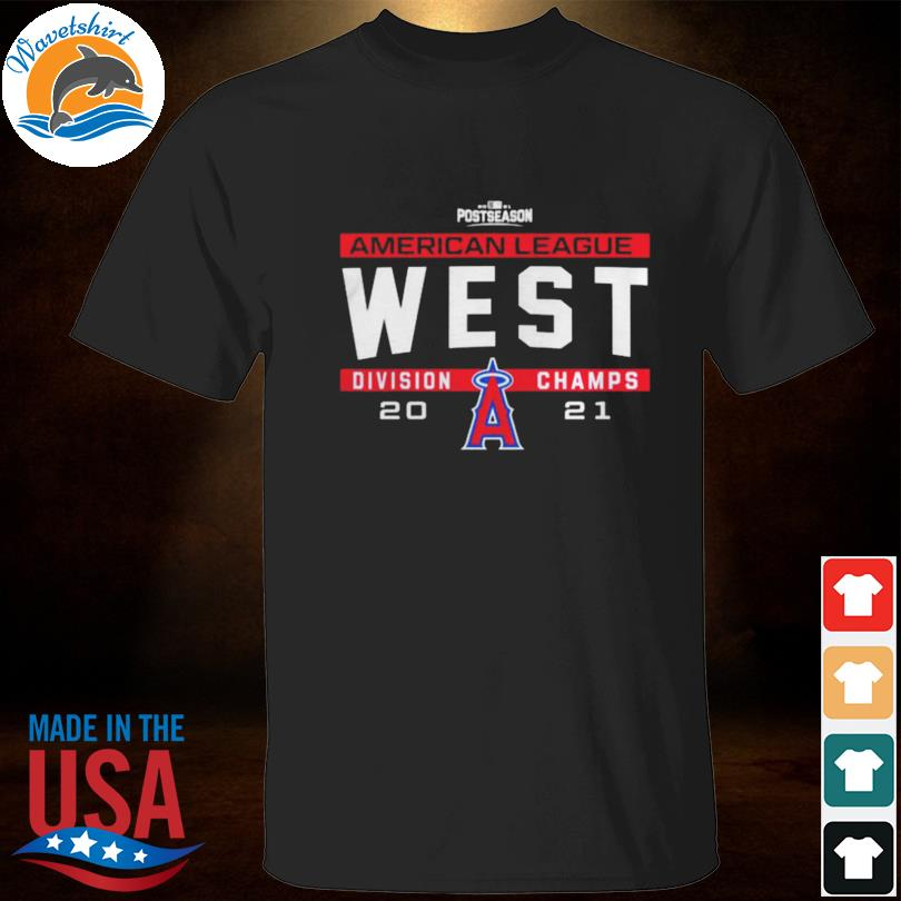 Los angeles angels 2021 nl west division champs shirt