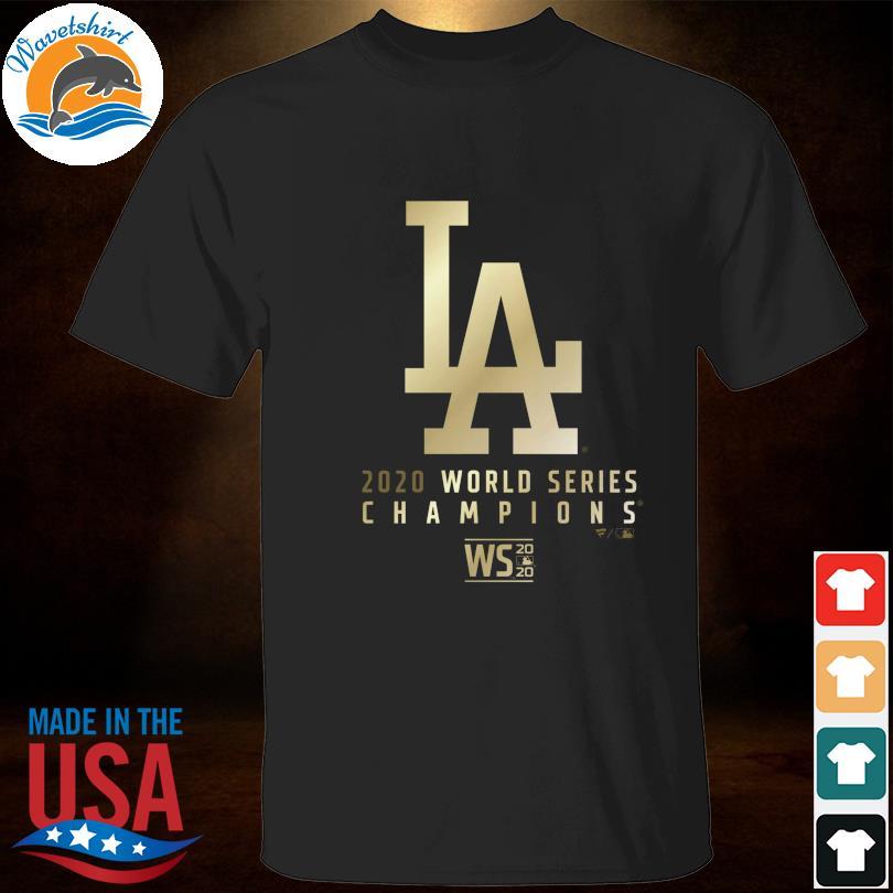 Los Angeles Dodgers 2020 World Series championship t-shirt