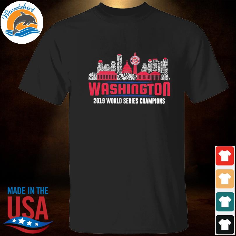 Washington Nationals Members 2019 World Series Champions shirt